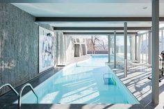 Richard Neutra, Bucerius House, Brione, Switzerland, 1966 | pool
