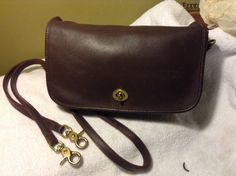 Vintage Coach Leather Shoulder Cross Body  by MzVintageAffair3, $85.00
