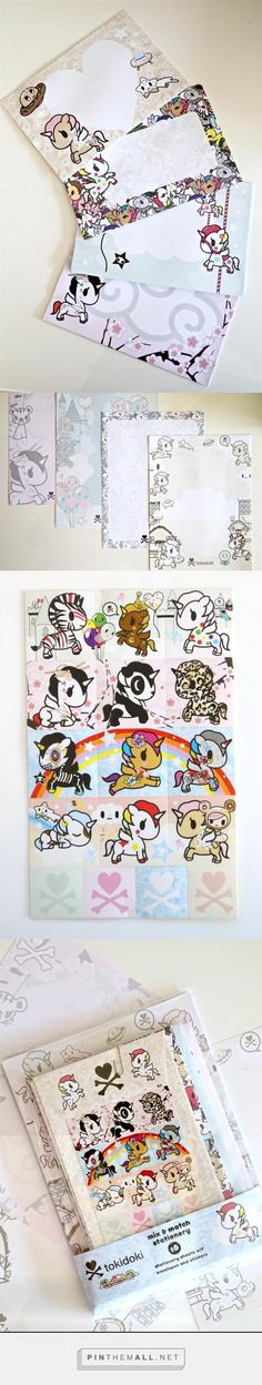 Write criminally cute letters and notes with our tokidoki Unicorno Stationery Kit!  Each kit comes with 16 mix and match stationery sheets, envelopes, and stickers, and  feature some of our favorite Unicornos!  Each set also comes with 4 different designs for  both envelopes and stationery sheets.  #tokidoki #cute #stationery #ayellowgiraffe #notes #letters #paper #envelopes #writemore