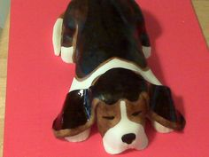 CiCi's Cakes: Adventures in making a beagle cake
