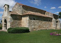 Iglesia de San Juan de Baños, S.VII, exterior. -Tradición Visigoda -21.