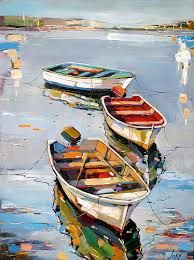 Malerei what time is the powerball drawing tonight - Drawing Tips Landscape Art, Landscape Paintings, Pinterest Pinturas, Creation Art, Boat Art, Boat Painting, Arte Pop, Art Graphique, Acrylic Art
