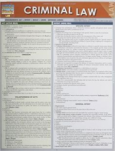 BarCharts, Inc was founded on our law guides created by the owner. They were designed to understand the significant details within the larger scheme of the law, Law Notes, Teaching Government, Law Enforcement Jobs, Contract Law, School Study Tips, School Tips, School Stuff, Criminal Law, Criminal Defense