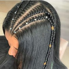 Baddie Hairstyles, Teen Hairstyles, Straight Hairstyles, Braided Hairstyles, Cool Hairstyles For Girls, Pretty Hairstyles, Natural Hair Styles, Short Hair Styles, 3d Mode