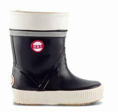 """Cool black Hai-rubber boots for kids from Finland. """"Hai"""" means shark in Finnish, btw. Wellington Boot, Hai, Kids Boots, Hunter Boots, Ugg Boots, Rubber Rain Boots, Uggs, Footwear, Style Inspiration"""
