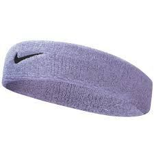 Nike Tennis Swoosh Headband One Size Fits Most Iron PurpleBlack * Click image for more details.(This is an Amazon affiliate link)