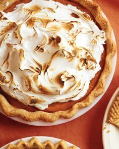 Sweet Potato Pie courtesy of Martha Stewart. Mmmm.