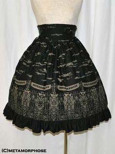 Metamorphose Moonlight Night skirt in black