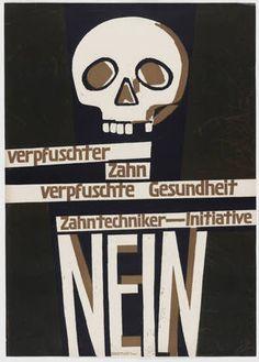 Ernst Keller. Verpfuschter Zahn, Verpfuschte Gesundheit, Zahntechniker-Initiative, Nein. 1946