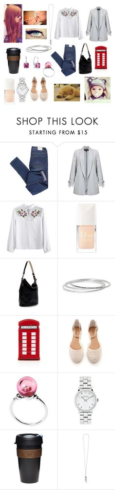 """Avery in Chicago (fiction)"" by floriane97 ❤ liked on Polyvore featuring Cheap Monday, Miss Selfridge, Christian Dior, Privileged, Zara, Argento Vivo, Lulu Guinness, Trollbeads, Marc by Marc Jacobs and KeepCup"