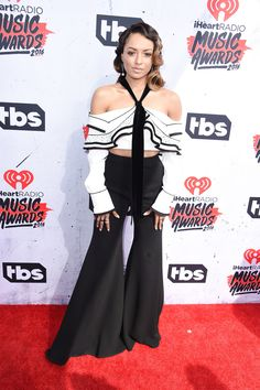 Kat Graham aux iHeartRadio Music Awards 2016