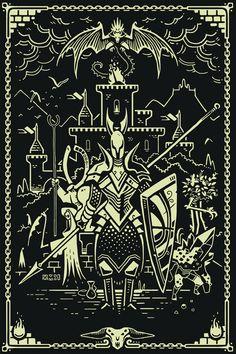 Finished up a Dark Souls piece tonight. Medieval Fantasy, Dark Fantasy, Fantasy Art, Dibujos Dark, Witcher Wallpaper, Arte Dark Souls, Soul Saga, Bloodborne Art, Soul Tattoo