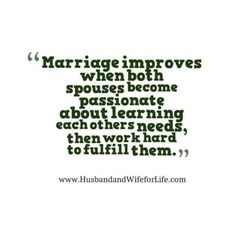 But it should start during the relationship and grow as engagement and marriage draw near.