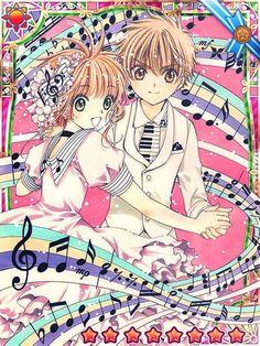 Cardcaptor Sakura~~Sakura and Syaoran Li are so cute Cardcaptor Sakura Clear Card, Sakura Card Captors, Sakura Kinomoto, Syaoran, Sakura Sakura, Manga Anime, Anime Art, Anime Music, Tokyo Babylon