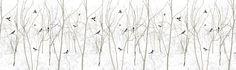 Pattern Magpie - Fotobehang & Behang - Photowall