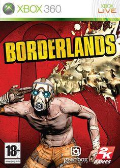 Boxart van Borderlands (Xbox360), Gearbox Software