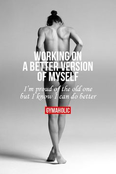 "I don't workout to be ""sexy"" or better than other people. I workout to be healthier and to feel better about who I am and what I can do. Sport Motivation, Fitness Motivation, Fitness Quotes, Weight Loss Motivation, Fitness Goals, Health Fitness, Fitness Diet, Fitness Workouts, Sport Fitness"