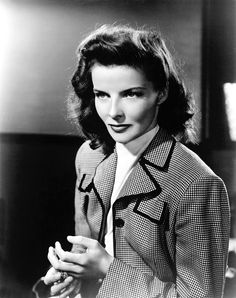 Katharine Hepburn in Woman of the Year