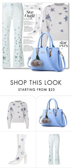 """""""Twinkle, Twinkle: Star Outfits Bagail"""" by kiveric-damira ❤ liked on Polyvore featuring Rebecca Taylor, STELLA McCARTNEY and StarOutfits"""