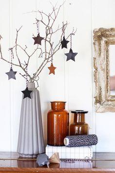 Vase et étoiles