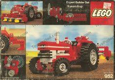 LEGO 952 Farm Tractor Image 1