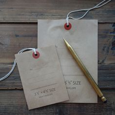 Classiky Envelope with String