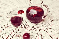 Plum and Grape Red Sangria... Yes please