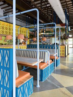 Fonda Hawthorne Restaurant By Techn Architecture Interior Design