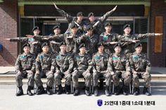 Korean Military Posts a New Squad Photo of T.O.P's Group (170228) [PHOTO] - bigbangupdates