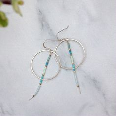 Miyuki hoop earrings https://www.etsy.com/uk/listing/528098322/decorative-dangle-earrings-hoop-earrings