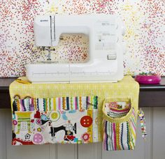 Sewing Machine Apron Reveal - Schlosser Designs | Blog
