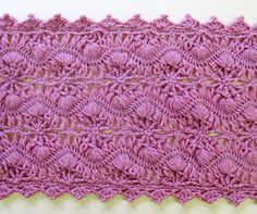 Hairpin lace  Free PDF for gorgeous scarf & wristlets pattern is in Japanese but has diagrams