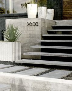 Modern Front Steps Design, Pictures, Remodel, Decor and Ideas - page 6