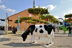Nadia Mikushova. Cows - a symbol of the EXPO Milano 2015.