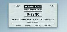Kenton cultivates connections with bi-directional MIDI to DIN Sync convertor | Gearjunkies.com