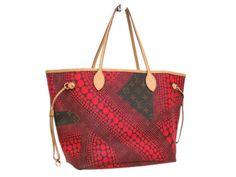 eLADY global accepts returns within 14 days, no matter what the reason! Louis Vuitton Neverfull MM Tote Bag (YAYOI KUSAMA) Pumpki  M40684(BF062773)