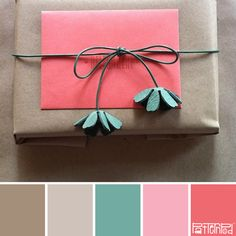 this mady be the perfect palette, has the gray, the pink and aqua. Hurrah!