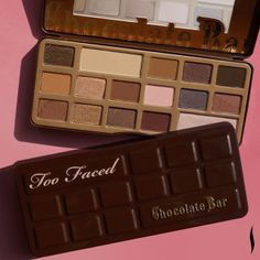 Chocolate + eye shadow = the perfect Saturday #Sephora #TooFaced #makeup #palettes