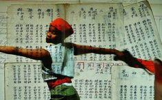 Kentridge, Notes Towards a Model Opera, Dada on Chinese text 1, 2015