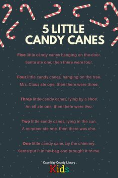 A great rhyme for storytime! Perfect for winter, snow, and holiday themes! - Kids education and learning acts Kindergarten Songs, Preschool Music, Preschool Learning, Preschool Activities, Teaching, Therapy Activities, Christmas Songs For Kids, Christmas Program, Christmas Poems