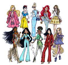 Disney Diva Fashionistas collection by Hayden Williams