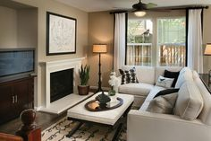 Highlands Place by KB Home - living room