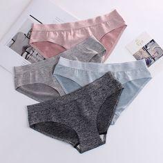 f158ae2e3e Sexy ladies panties one-piece seamless cotton ice silk underwear female  sense close-fitting elastic breathable ladies briefs  intimates  bras  bra   tops ...