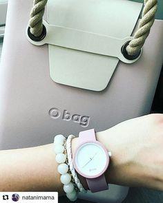 #ochic #smokepink O Bag, Fashion Bags, Womens Fashion, Hobo Handbags, Leather Bag, Bag Accessories, Clock, Wallet, Purses