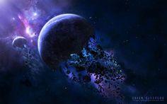 asteroides del espacio