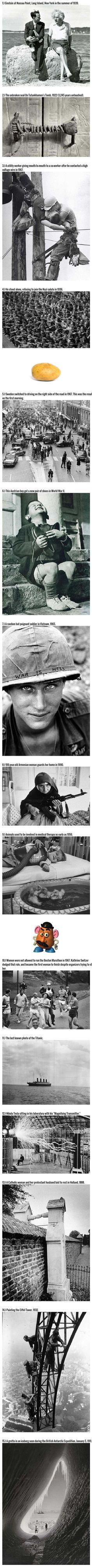 15 Incredible Historical Photos