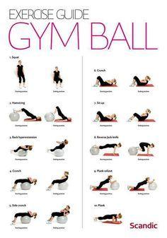 Gym Ball Workout - Full Body and Balance