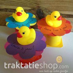 traktatie danoontje doe het zelf pakket [alleen danoontje toevoegen] Rubber Duck, Tweety, Toys, Toy, Games