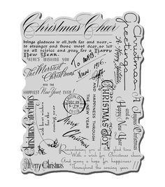 Stampendous Christmas Cling Rubber Stamp 4 inch inch Sheet-Christmas Background from Create and Craft USA 2 Logo, Happy Wishes, Typography, Lettering, Christmas Background, Joanns Fabric And Crafts, Arts And Crafts Supplies, Scrapbook Supplies, Scrapbooking
