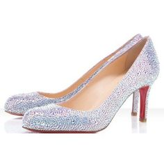 Chaussure Louboutin Pas Cher Escarpin Simply Mary 70mm Strass #highheels